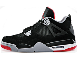 Air Jordan IV Black/Red (36-45) арт-003