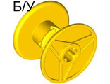 ! Б/У - Technic Reel 3 x 2, Yellow (32012 / 4120070 / 4297401) - Б/У