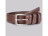 Ремень Moss 1851 Chocolate Casual Chino Belt