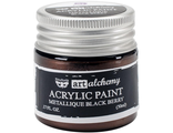 Acrylic Paint-Metallique Black Berry