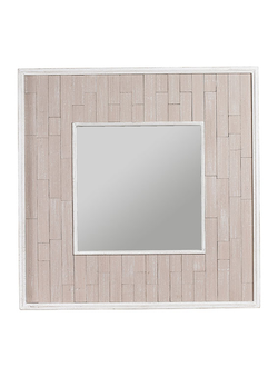 Зеркало MIRROR MAINEL GREY 80X80CM PAULOWNIA WOOD арт. 30862