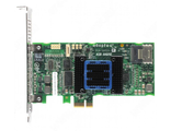 Adaptec ASR-6405 (PCI-E v2 x8, LP) KIT SAS 6G, RAID 0,1,10,5,6,50, 4port(intSFF8087), 512Mb onboard