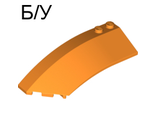 ! Б/У - Wedge 8 x 3 x 2 Open Left, Orange (41750 / 4251106) - Б/У