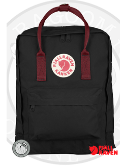 Fjallraven Kanken Black/Ox Red (550/326)