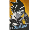 Постер ABYstyle: OVERWATCH: Tracer Cheers Luv: Poster (91.5x61)