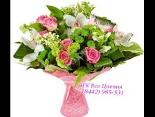 Букет с Орхидеями Розовое Счастье