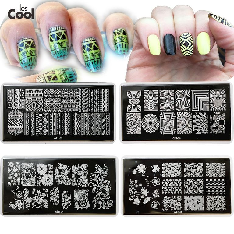 Печатки с рисунками на ногти
