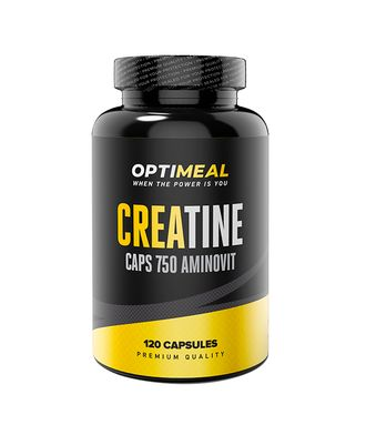 Creatine Monohydrate (120 капсул) OptiMeal
