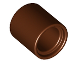 Technic, Pin Connector Round 2/3 L, Reddish Brown (18654 / 6170813)