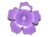 Friends Accessories Hair Decoration, Flower with Serrated Petals and Pin, Medium Lavender (93080h / 6097073)