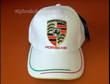 Бесболка с логотипом авто PORSCHE