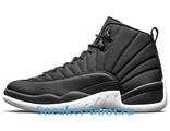"Air Jordan 12 Retro ""Waterproof Nylon"" Black"