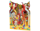 SC153-Swing Card-Big Top Clowns-Front