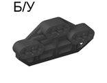 ! Б/У - Technic, Axle Connector Block 3 x 6 with 6 Axleholes, Black (32307 / 4236019) - Б/У