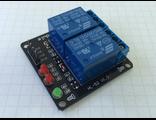 Двухканальное управляемое реле со светодиодной индикацией