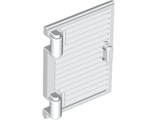 Shutter for Window 1 x 2 x 3 with Hinges and Handle, White (60800a / 6186640)