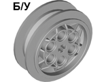 ! Б/У - Wheel 43.2mm D. x 18mm ;flush axle stem;, Light Bluish Gray (86652 / 4551421) - Б/У