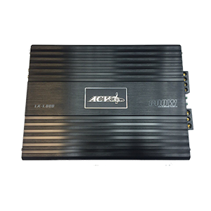 ACV LX 1.800 400вт/1канал 4-2ом/BassBoost/High pass/Low pass