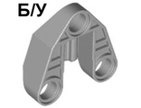 ! Б/У - Technic, Pin Connector 3 x 3 with Axle and 3 Pin Holes, Light Bluish Gray (32175 / 4249274) - Б/У