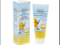 Детская гелевая зубная паста Babyline со вкусом банана (от 1 до 4 лет)