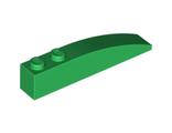 Slope, Curved 6 x 1, Green (42022 / 4160395)