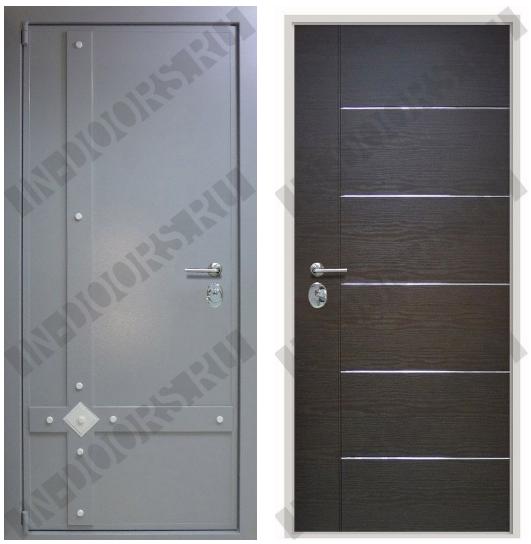 дверь металлическая толщина стального листа 2 мм 2100 1000