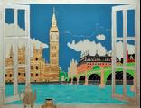 Картина Лондон современная живопись панорамы от VOG