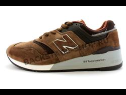 Мужские кроссовки New Balance 997 Brown