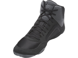 борцовки Asics Snapdown Black/Black/Carbon J703Y-9090 wrestling shoes фото
