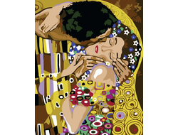 Поцелуй, худ. Густав Климт