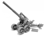 HEAVY ARTILLERY CARRIAGE WITH EARTHSHAKER CANNON