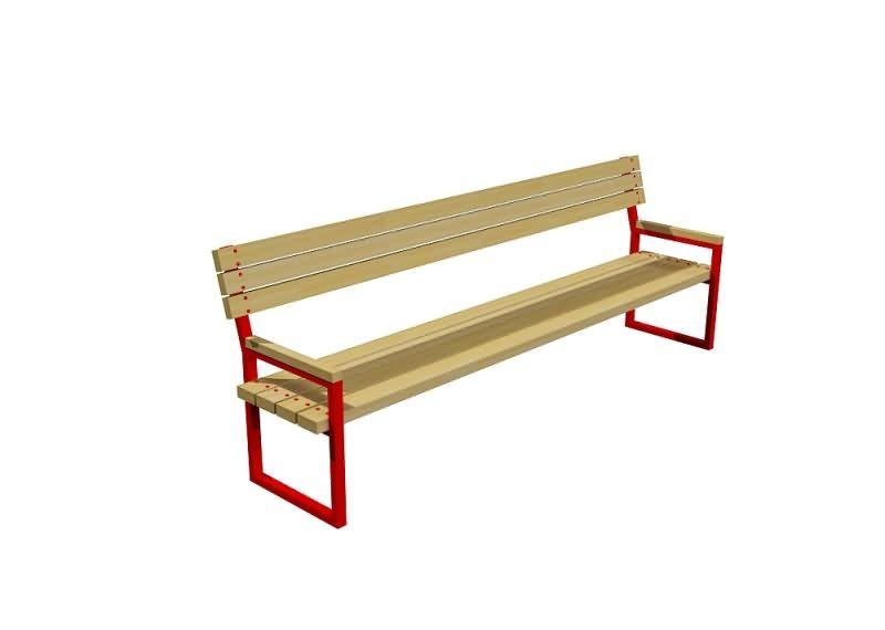 Скамейка из уголка