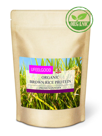 Organic Brown Rice Protein (Протеин из бурого риса) (200 гр - 33 порц)
