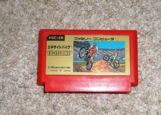 Excitebike / Excite bike  для Famicom Денди (Япония)