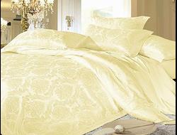 Артикул H024. Элитное постельное белье на 100% хлопковой основе с использованием шелковой нити,декорировано вышивкой