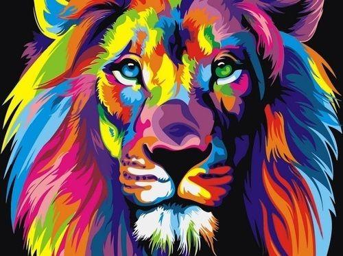 GX 8999 Радужный лев