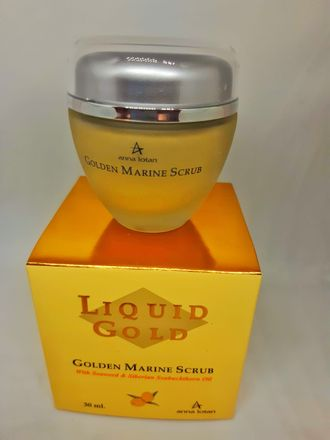 Liquid Gold Golden Marine Scrub - Пилинг «Золотой»