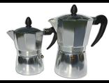 Гейзерная кофеварка алюминий на 9 чашек