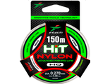Леска INTECH HIT Nylon 150м, 0,141мм (тест 1,56кг) Япония