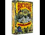 Дизайнерские карты, игральные карты, для покера, BICYCLE ZOMBIE EVERY DAY, зомби, игра, байсикл