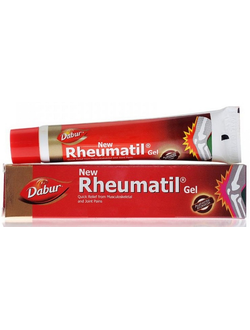 """Ревматил гель"", от компании Дабур, 30гр (Rheumatil Gel Dabur) Для здоровья суставов."