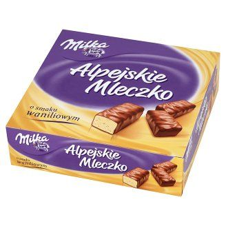 Milka - Alpine Milk Vanilla Cream 330g