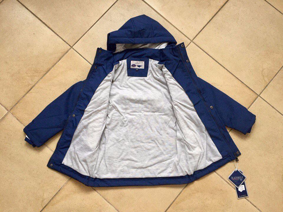 Утепленные удлиненные куртки для мальчиков