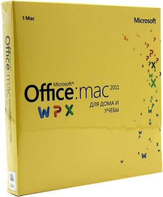 Microsoft Office 2011 for Mac Home and Student GZA-00145 BOX