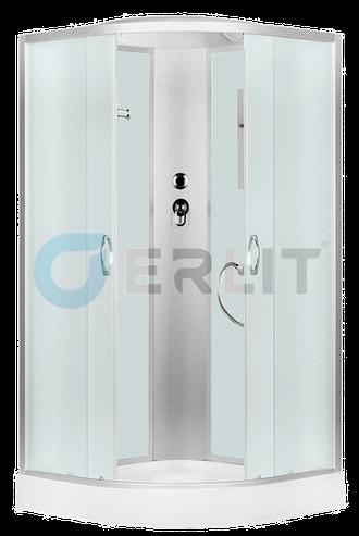 Душевая кабина 90X90 Erlit ER 3509 P-C3, низкий поддон