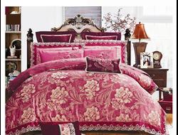 Артикул H022. Элитное постельное белье на 100% хлопковой основе с использованием шелковой нити,декорировано вышивкой