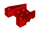 Wedge 3 x 4 with Stud Notches, Red (50373 / 4230901)