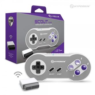 "Hyperkin SNES ""Scout"" Premium Blue Tooth Controller для SNES/ ПК/ Mac/ Android"