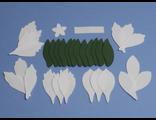 Альстромерия из фоамирана, набор лепестков