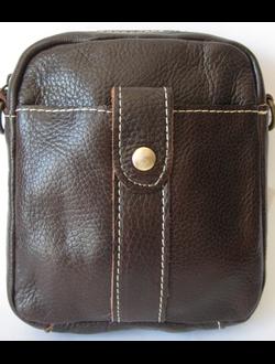 мужские кожаные сумочки на пояс